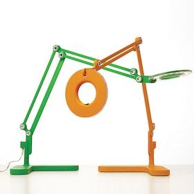 Green Link LED Desk Lamp,Green,hi-res