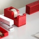 Red Tape Dispenser,Red,hi-res