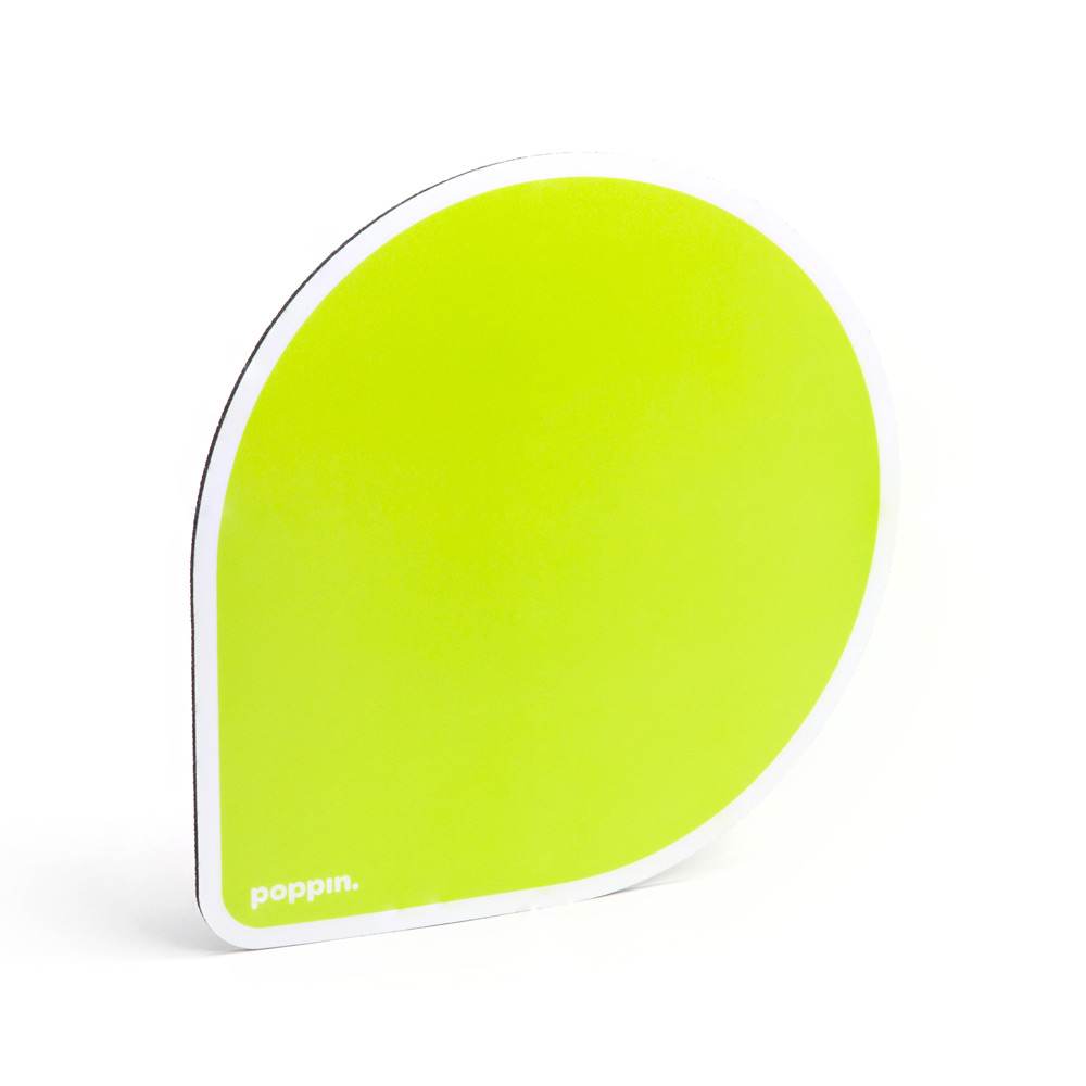 lime green mouse pad cool office supplies poppin