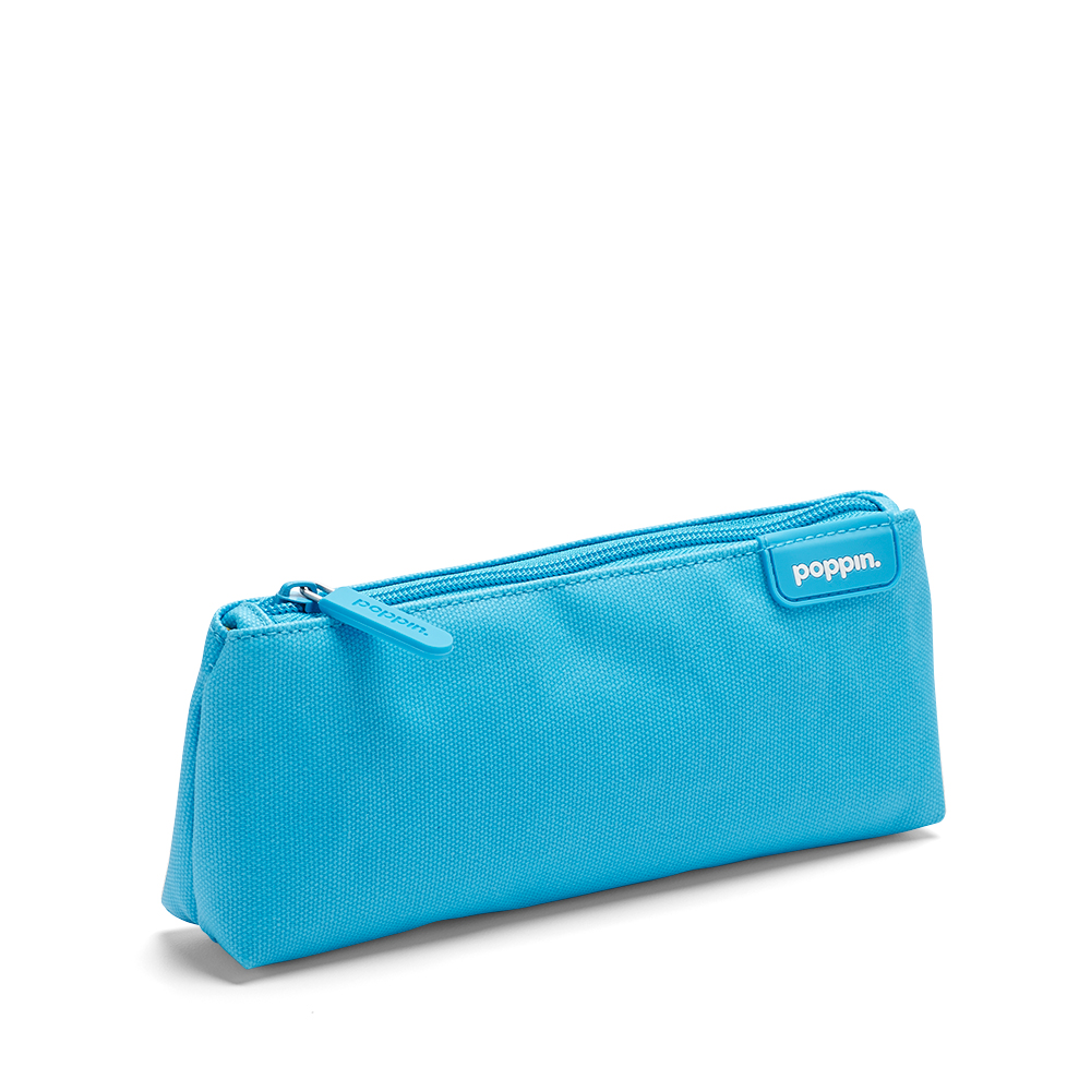 Pool Blue Yellow Pencil Pouch Hi Res