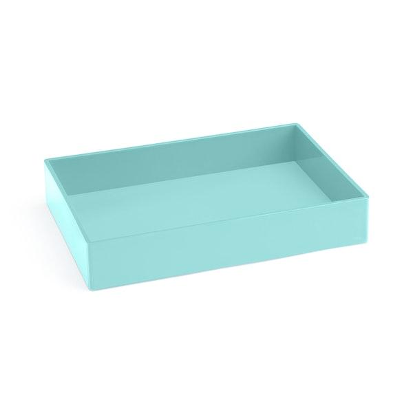 Aqua Medium Accessory Tray,Aqua,hi-res