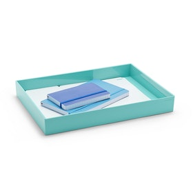 Aqua Large Accessory Tray,Aqua,hi-res