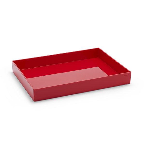 Red Large Accessory Tray,Red,hi-res