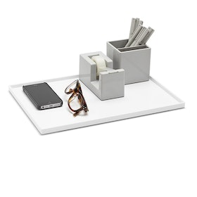 White Large Slim Tray