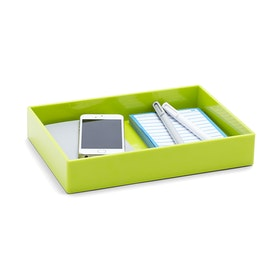 Lime Green Medium Accessory Tray,Lime Green,hi-res