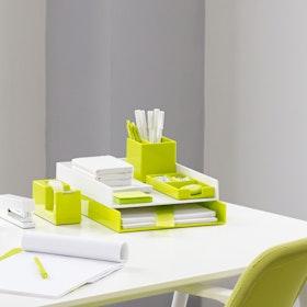 Lime Green Pen Cup Hi Res