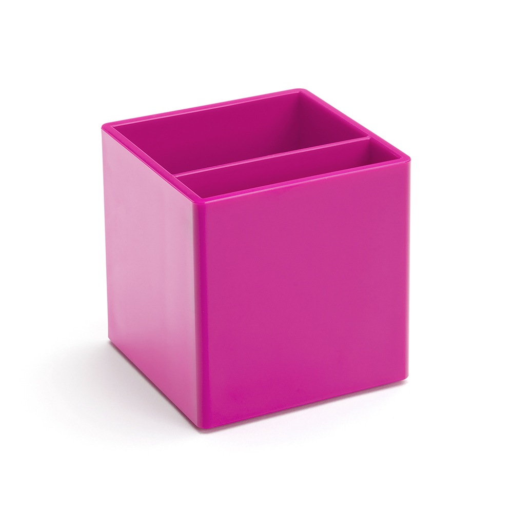 Beau Pink Pen Cup | Desk Accessories | Poppin
