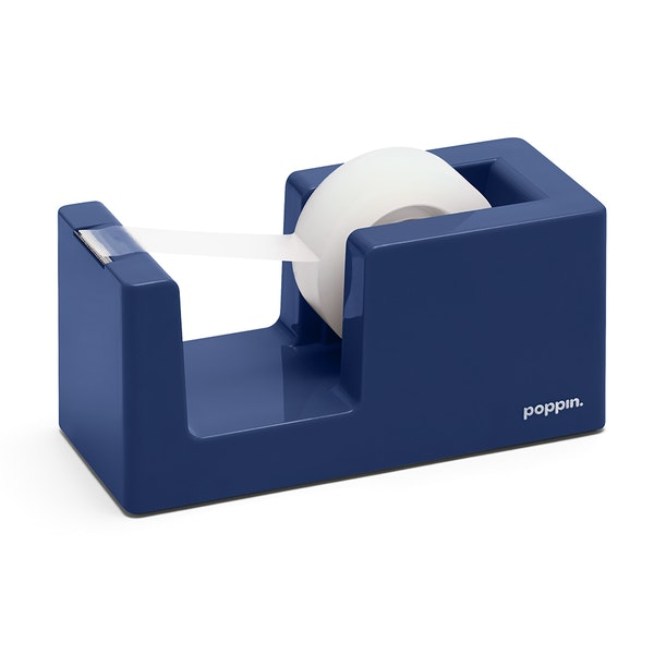 Navy Tape Dispenser,Navy,hi-res