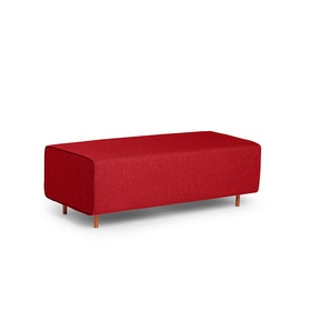 Red Block Party Lounge Bench,Red,hi-res