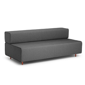 Dark Gray Block Party Lounge Sofa