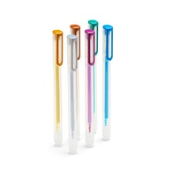 Metallic Assorted Gel Ink Pens, Set of 6,,hi-res