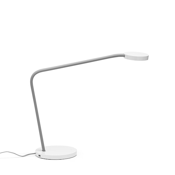 Light Gray Limber LED Task Lamp,Light Gray,hi-res