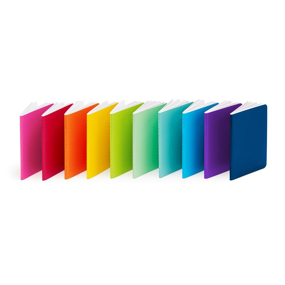 mini medley of soft cover notebooks set of 10 journal notebooks