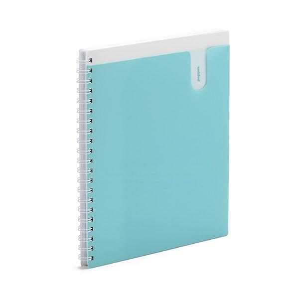 Aqua 1-Subject Pocket Spiral Notebook,Aqua,hi-res