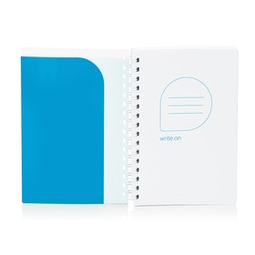 Pool Blue 1-Subject Pocket Spiral Notebook