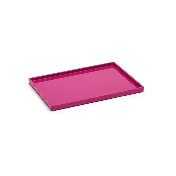 Pink Medium Slim Tray,Pink,hi-res