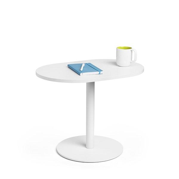 """White Tucker Side Table, 19""""h,,hi-res"""