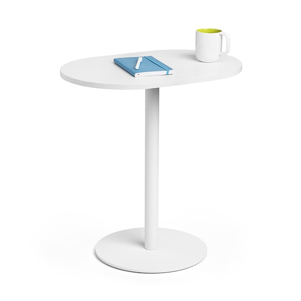 "White Tucker Side Table, 25""h,,hi-res"
