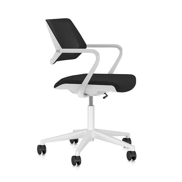 Black Qivi Desk Chair,Black,hi-res