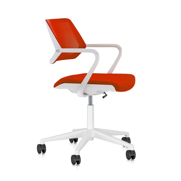 Red Qivi Desk Chair,Red,hi-res