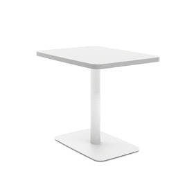 White Simple Lounge Side Table,,hi-res