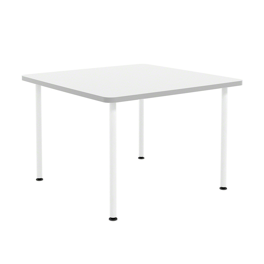 white simple square table  modern office furniture  poppin - images white simple square table