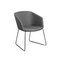 Pitch Sled Chair,Dark Gray,hi-res