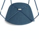 Dark Blue Pitch Sled Chair,Dark Blue,hi-res