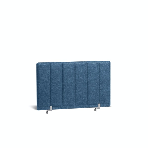 "Dark Blue Pinnable Molded Privacy Panel, 28 x 17.5"", Endcap,Dark Blue,hi-res"