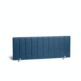 "Dark Blue Pinnable Molded Privacy Panel, Face-to-Face, 47"",Dark Blue,hi-res"