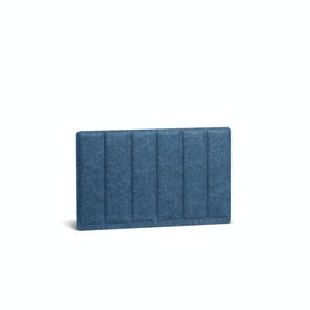 "Dark Blue Pinnable Molded Privacy Panel, Side-to-Side, 28"",Dark Blue,hi-res"