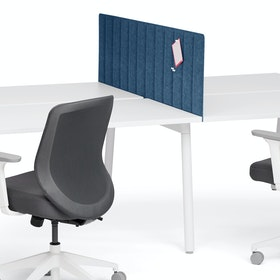 """Dark Blue Pinnable Privacy Panel, Side-to-Side, 57"""""""