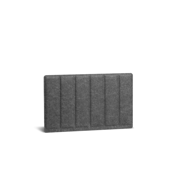 "Dark Gray Pinnable Molded Privacy Panel, Side-to-Side, 28"",Dark Gray,hi-res"