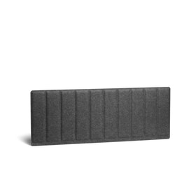 Dark Gray Pinnable Molded Privacy Panel, Side-to-Side, 47""