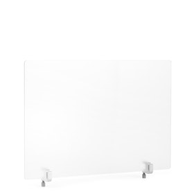 Frost White Translucent Privacy Panel, End Cap, 27""