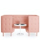 Blush QT Chair Booth,Blush,hi-res