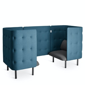 Dark Gray + Dark Blue QT Chair Booth