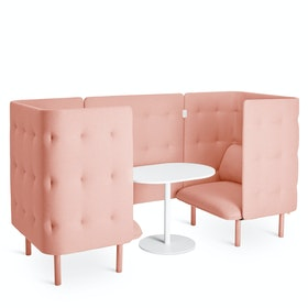 Blush QT Chair Booth