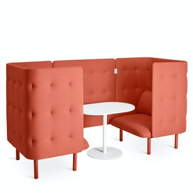 QT Privacy Lounge Chair Booth