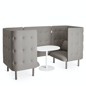 Gray QT Chair Booth