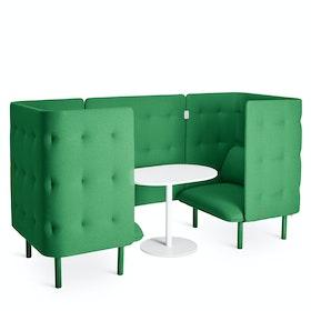 Leaf Green QT Chair Booth,Leaf Green,hi-res