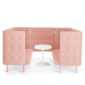 Blush QT Sofa Booth