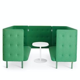 Leaf Green QT Sofa Booth,Leaf Green,hi-res