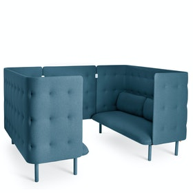 QT Privacy Lounge Sofa Booth