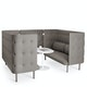 Gray QT Sofa Booth,Gray,hi-res