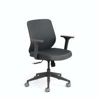 Max Task Chair, Charcoal Frame,Dark Gray,hi-res