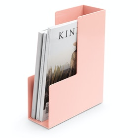 Blush Magazine File Box