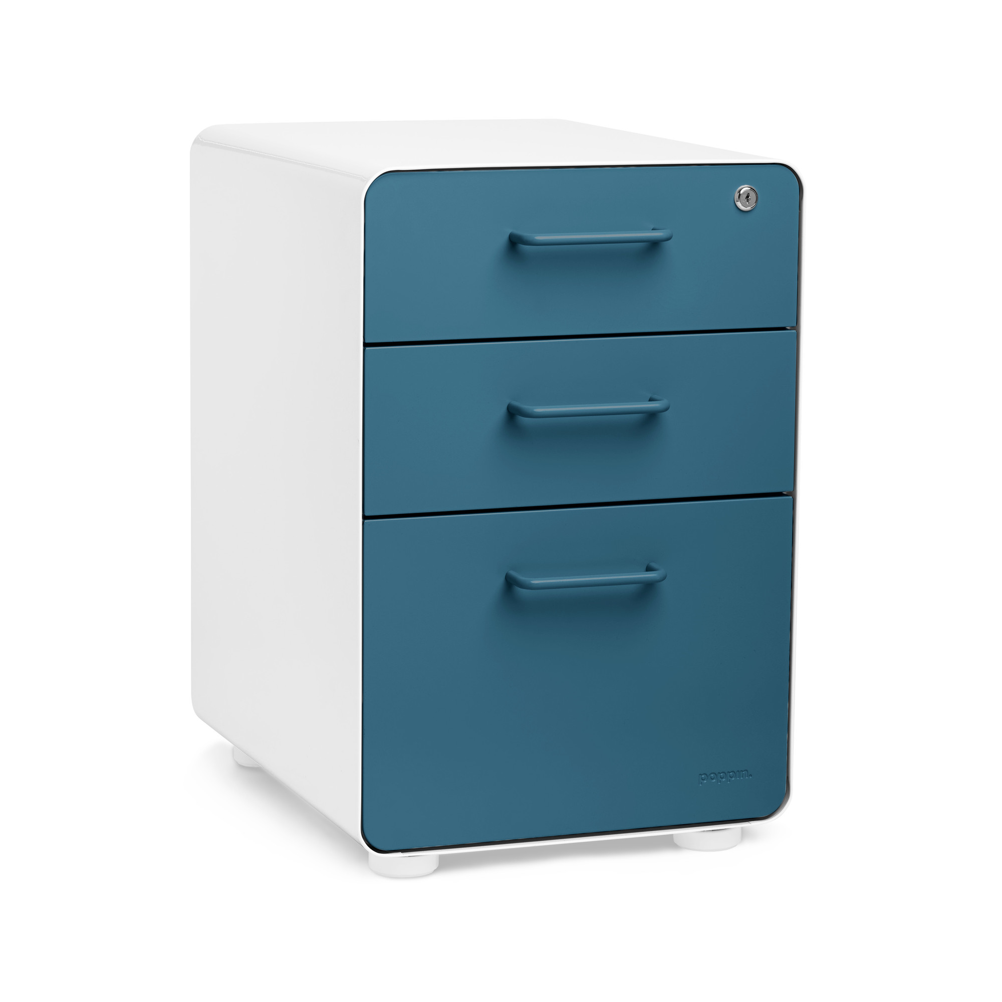 stow 3-drawer file cabinet | poppin 3 drawer file cabinet
