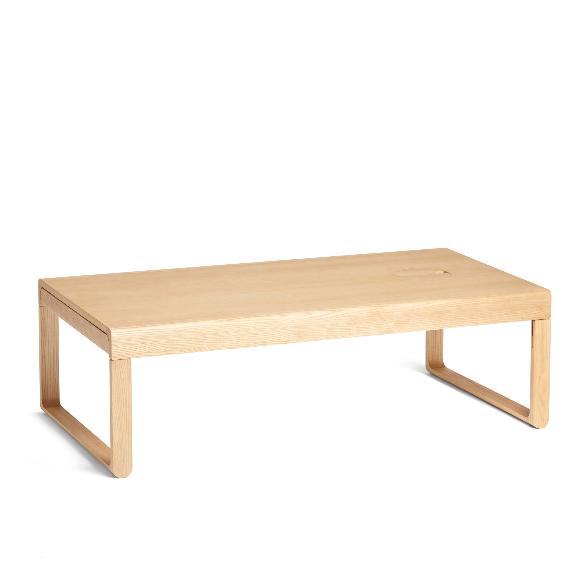 Natural Ash Take Aim Coffee Table Occassional Tables