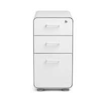 2x Slim Stow File Cabinet